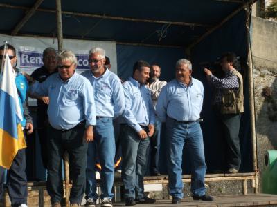 Mis buenos amigos del club Maritimo Atlántico de Tenerife.