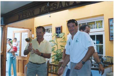 """Martín, del Club Náutico de Ribadeo.""""Villa de Castropol"""" 2005"""