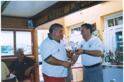 """Noveno clasificado.""""Villa de Castropol""""2005, Jesús González, del Oviedo Pesca Club."""