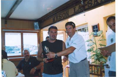 """Miguel, del Club Elite Oviedo, sexto clasificado en el """"Villa de Castropol"""" 2005"""