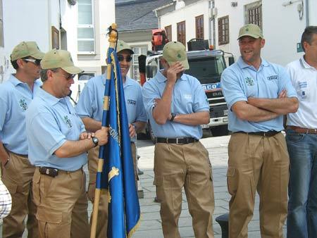 Otra instantanea del equipo Sección de Pesca-Congelados Egea.