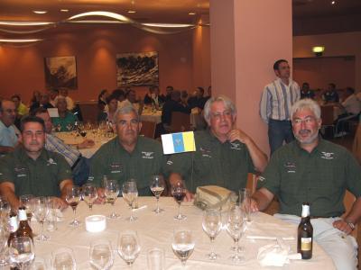 Nuestros amigos canarios del Club Maritimo Atlántico de Santa Cruz de Tenerífe.