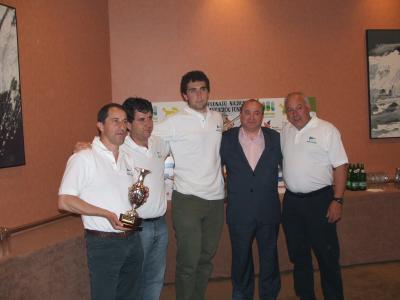 El Club Náutico de Hondarribia, cuarto clasificado.