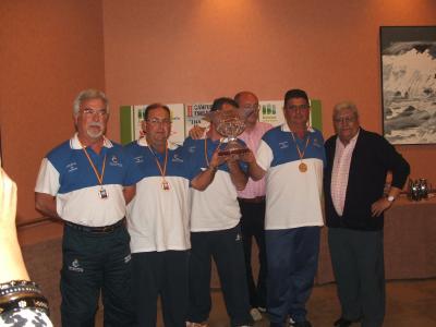 El Club Náutico de Torrevieja, tercer clasificádo en el campeonato.