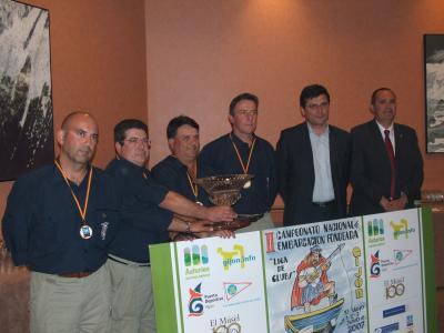 El Club de pescadores Deportivos de Valencia repite el titulo conseguido en Castropol en Mayo de 2006.